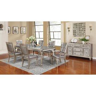 Astoria Grand Barrowman Extendable Dining Table
