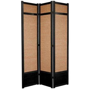 World Menagerie Clarke Shoji 3 Panel Room Divider