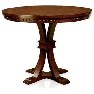 Red Barrel Studio Janeta Marble Top Counter Height Dining Table
