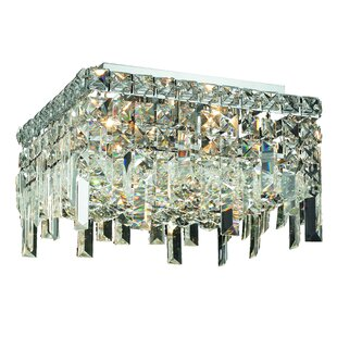 House of Hampton Langer 5-Light Flush Mount