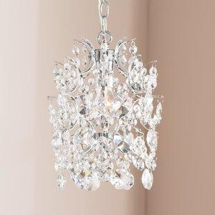Willa Arlo Interiors Blencoe 1-Light Crystal Pendant