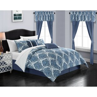 Heide 20 Piece Bed in a Bag Comforter Set