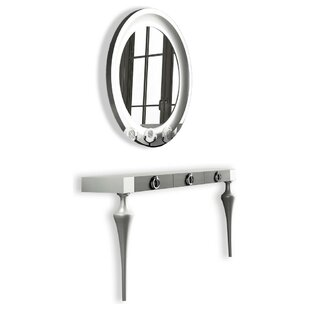 Farragutt Console Table and Mirror Set