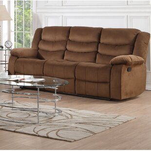 Fiorillo Motion Padded Reclining Sofa by Red Barrel Studio