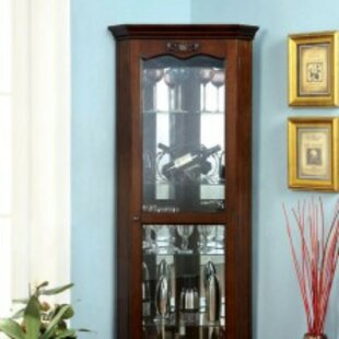 Charlton Home Leitner Curio Cabinet