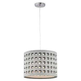 Wrought Studio Calla 1-Light Drum Pendant