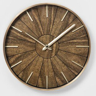 Battery Operated Cabin Lodge Wall Clocks You Ll Love In 2021 Wayfair