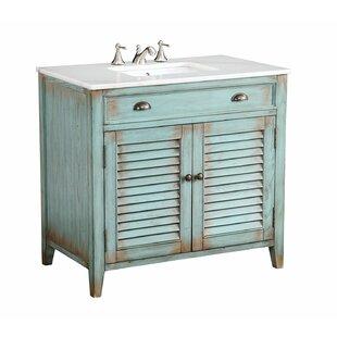 bathroom single sink vanities. save to idea board. foret 36\ bathroom single sink vanities f