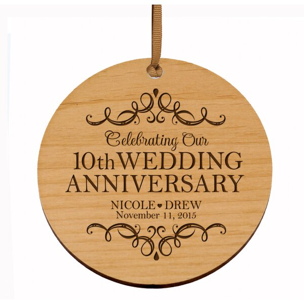 10th Wedding Anniversary Wayfair