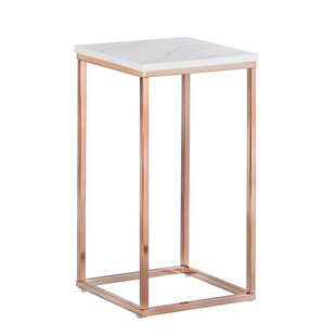 eaeb07982e31b Modern   Contemporary Rose Gold End Table