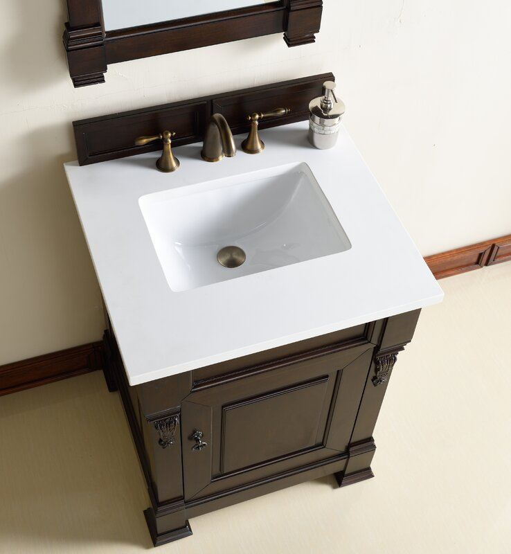 "Bathroom Vanity Base james martin furniture brookfield 26"" single bathroom vanity base"