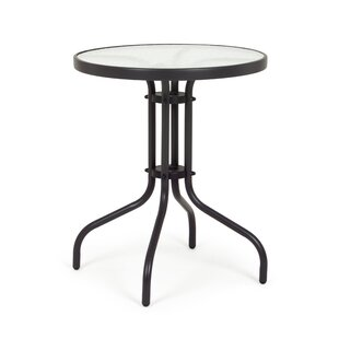 Sienna Steel Bistro Table By Marlow Home Co.