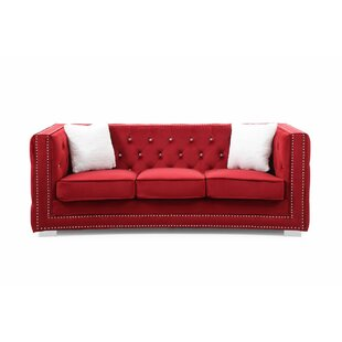 Everly Quinn Smollin Chesterfield Sofa