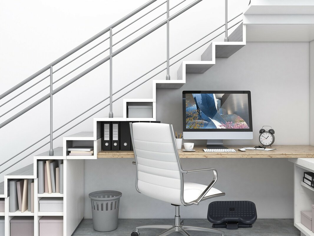 Mount it Mount-It! Foot Rest Under Desk Ergonomic Footrest - Reduces ...