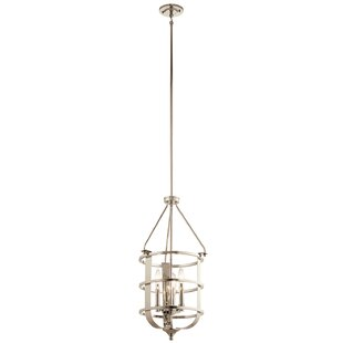 Latitude Run Hornbuckle 3-Light Urn Pendant