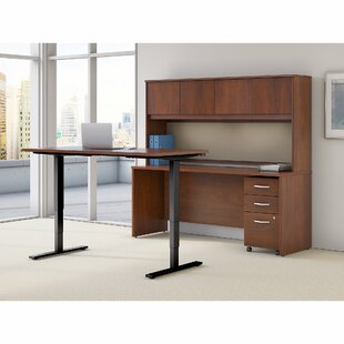 Series C Elite 2 Piece Desk Office Suite by Bush Business Furniture 2019 Online