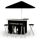 Champagne 8 Piece Bar Set