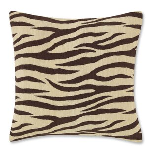 Brown Zebra Print Pillows Wayfair