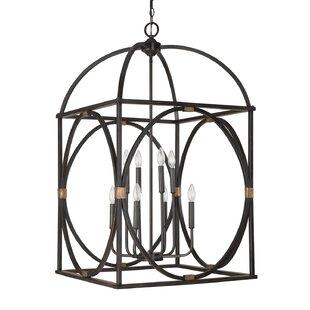 Chesham 8-Light Foyer Lantern Pendant by DarHome Co