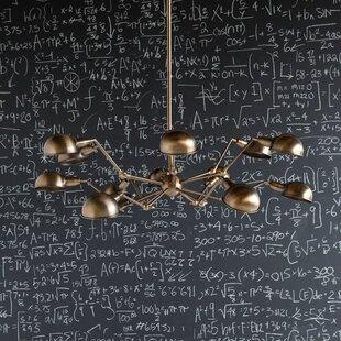 Best Price Harter 12-Light Sputnik Chandelier By Williston Forge