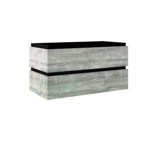 Turner 95cm Wall-Mounted Vanity Unit Base By Ebern Designs