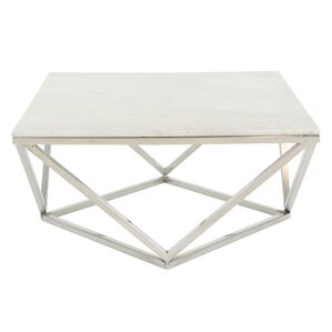 Awesome Critchfield Marble Top Square Coffee Table