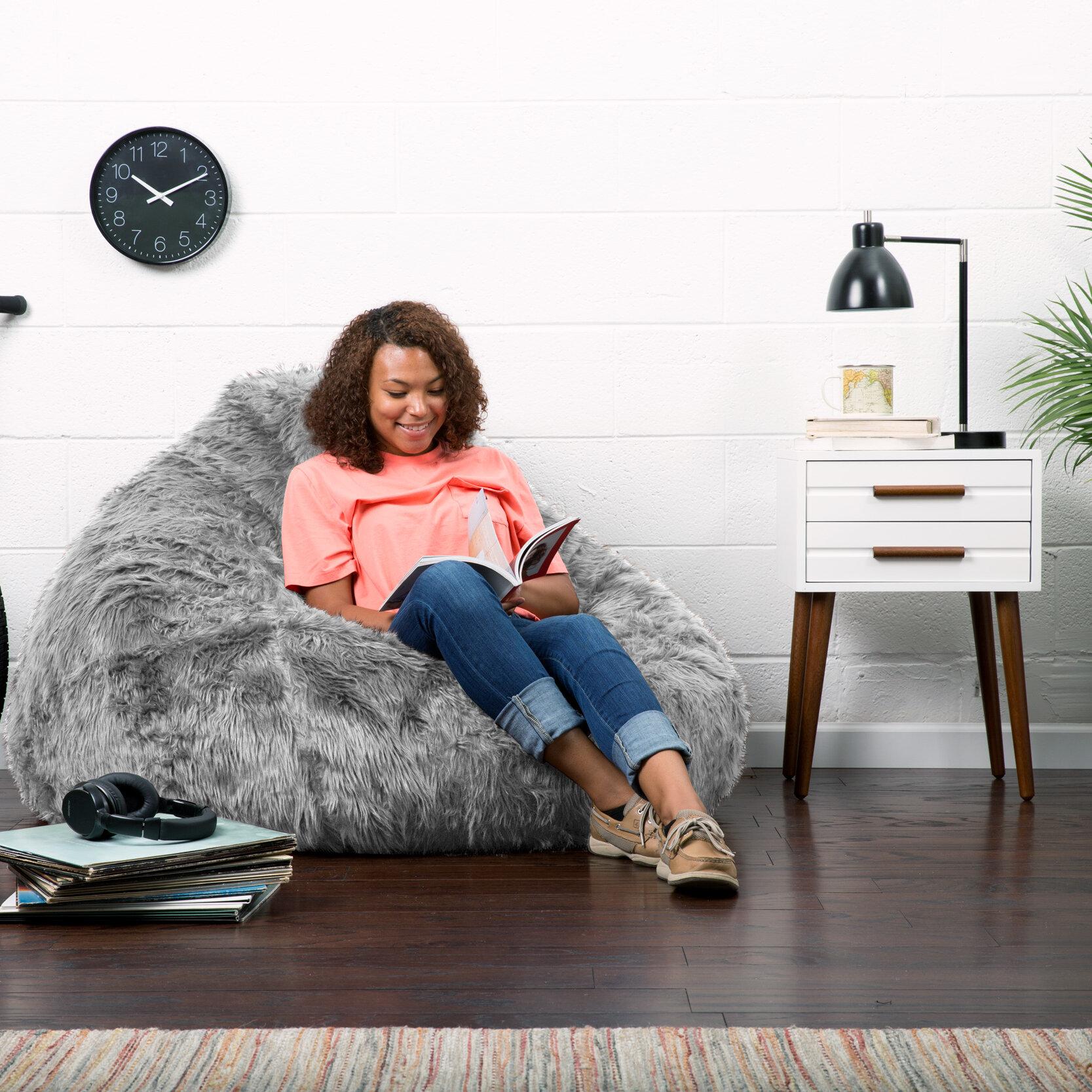 Comfort Research Big Joe Bean Bag Chair U0026 Reviews | Wayfair