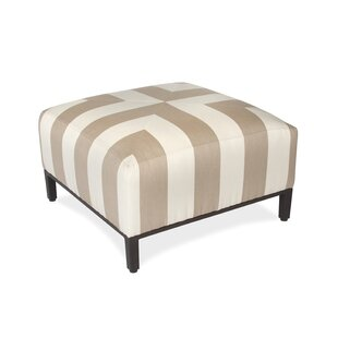 Peak Season Inc. Regency Upholstered Ottoman
