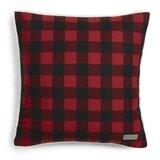 Cabin Plaid Cotton Throw Pillow byEddie Bauer