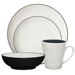 Colorwave Bloom Coup 4 Piece Place Setting, Service for 1