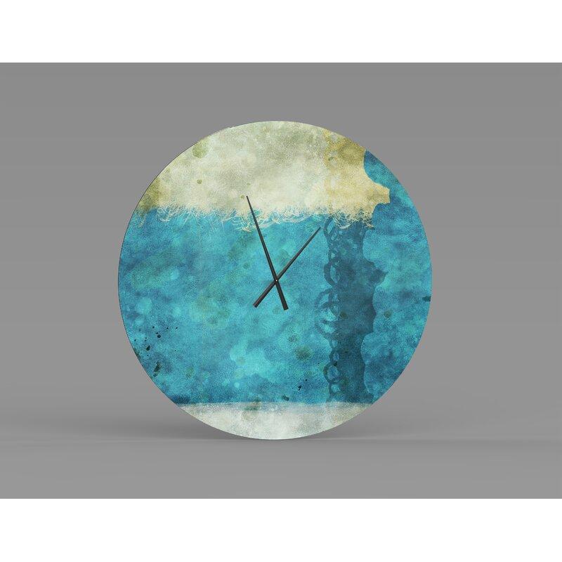 Orren Ellis Oversized Sundance Wall Clock Wayfair