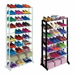 30 Pair Shoe Rack By Rebrilliant