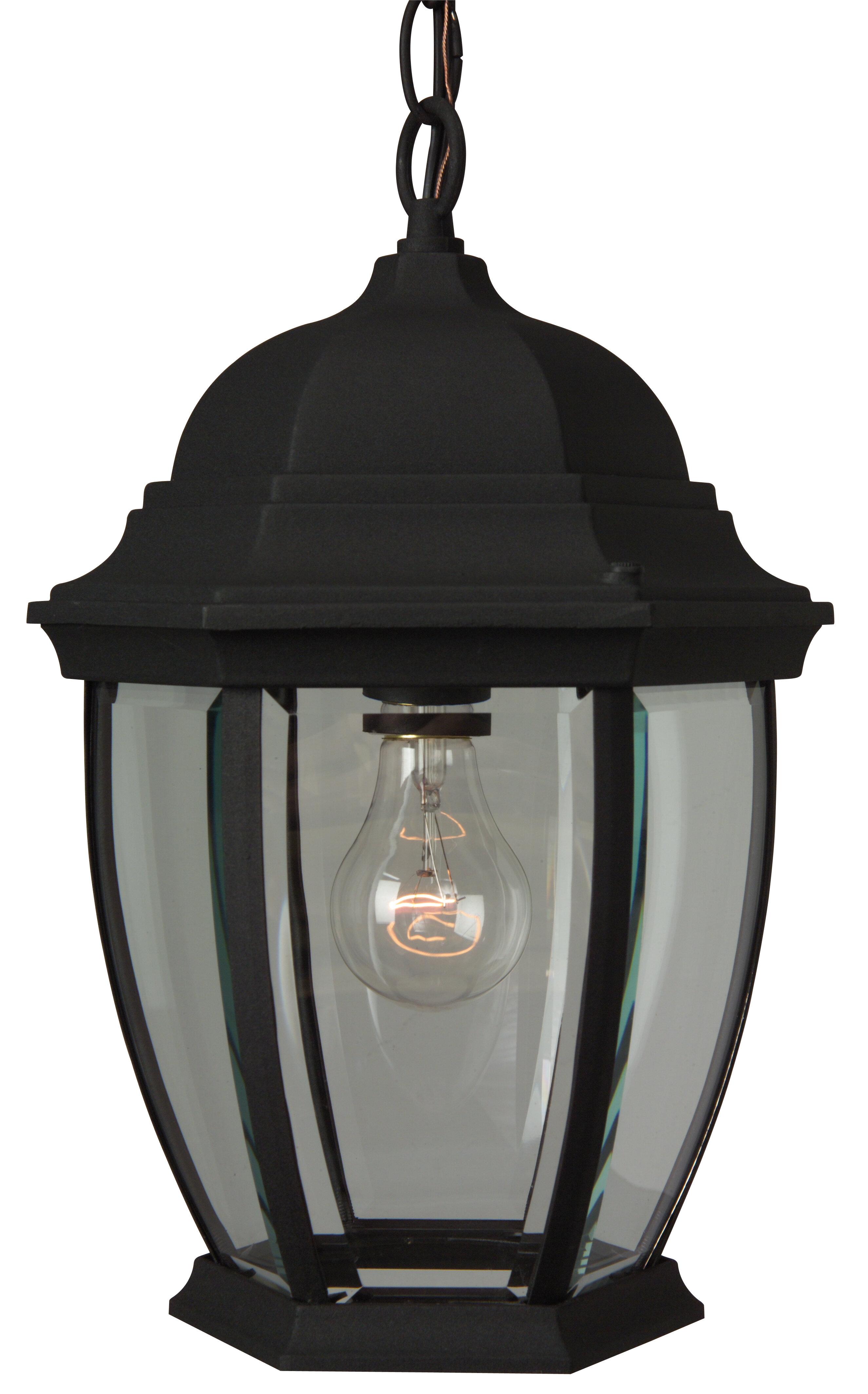 Breakwater Bay Frederica 1 Bulb 14 5 H Outdoor Hanging Lantern Reviews Wayfair