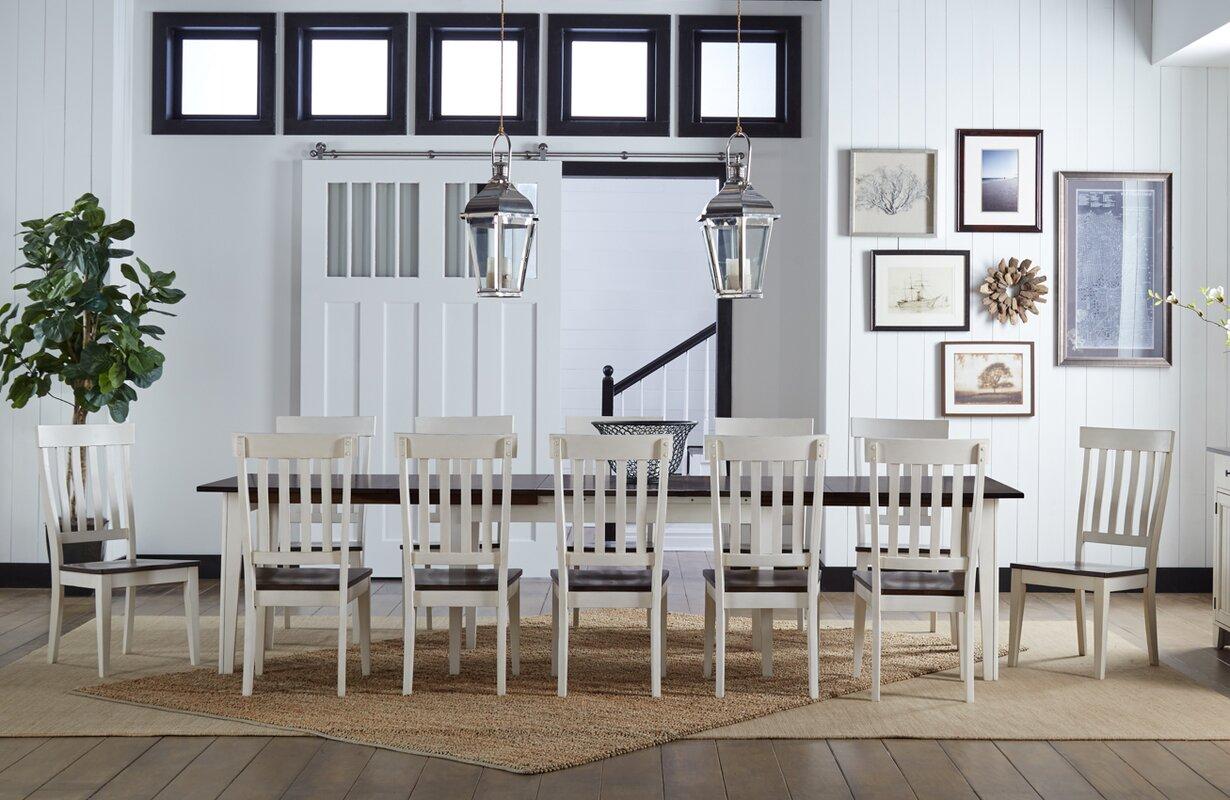 13 Piece Dining Room Set   Beachcrest Home Tamiami 13 Piece Dining Set Reviews Wayfair