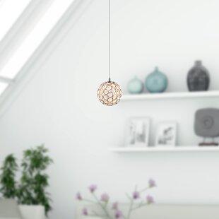Elder 1-Light LED Globe Pendant by Mercer41
