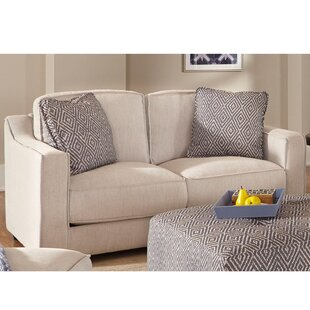 Jenette Stationary Loveseat by Latitude Run Wonderful