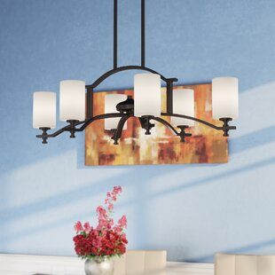 Northampton 6-Light Shaded Chandelier by Red Barrel Studio