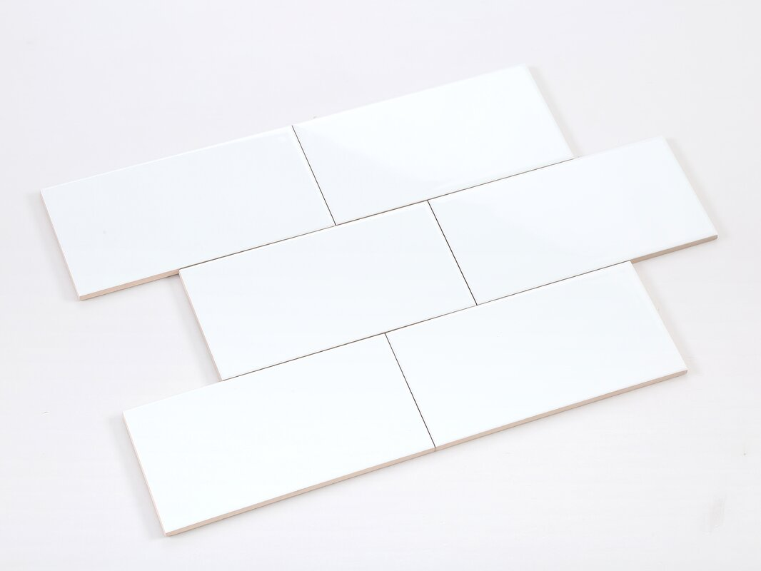 Ws tiles value series 4 x 8 ceramic subway tile in white reviews value series 4 x 8 ceramic subway tile in white dailygadgetfo Gallery
