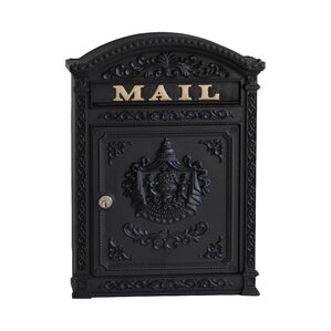 Vault Locking Wall Mounted Mailbox