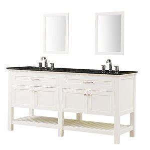 70 Inch Bathroom Vanity 608 Modern Latitude Run Bathroom Vanities Allmodern