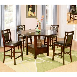 5 Piece Drop Leaf Dining Set Wildon Home®