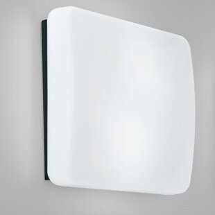Read Reviews Rialto 2-Light Outdoor Flush Mount By Ai Lati