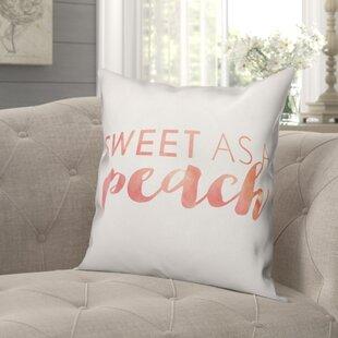 Peach Pillows Wayfair