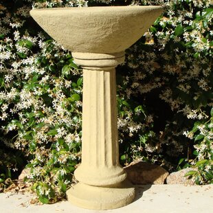 Designer Stone, Inc Old World Basin Birdbath
