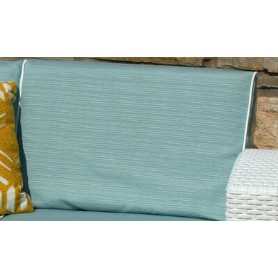 Loggins Outdoor Sofa Cushion Cover Set Color: Blue by Brayden Studio