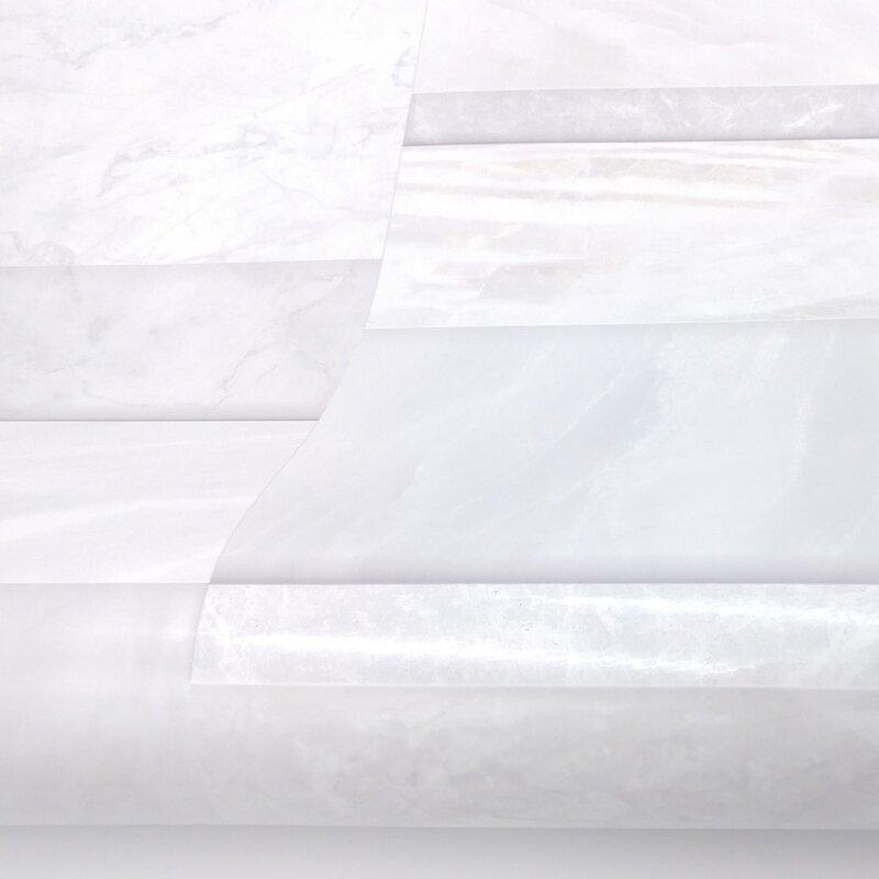 Wrought Studio Shaunna Brick Wall Tiles Contact Paper Marble Design 9 8 L X 19 6 W Peel And Stick Wallpaper Roll Wayfair