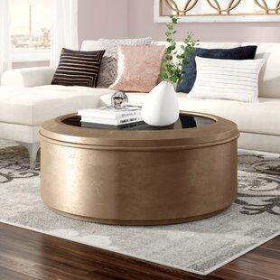Compare Rodger Drum Coffee Table ByWilla Arlo Interiors