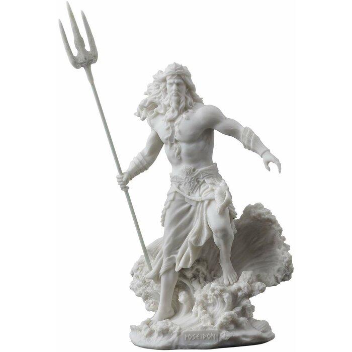 Jessa Poseidon Greek God Figurine