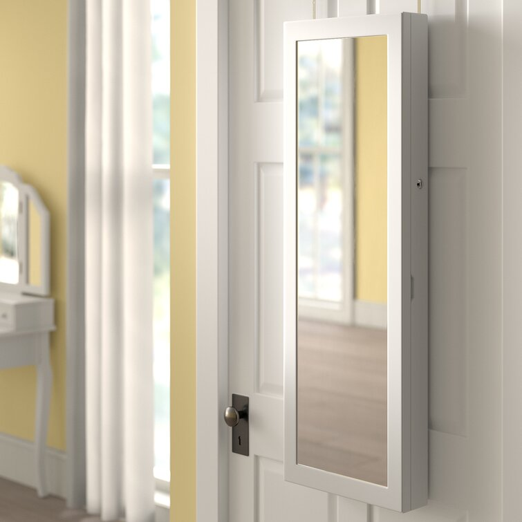 Askins Jewelry Armoire with Mirror