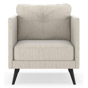 Orren Ellis Schiavone Satin Weave Armchair